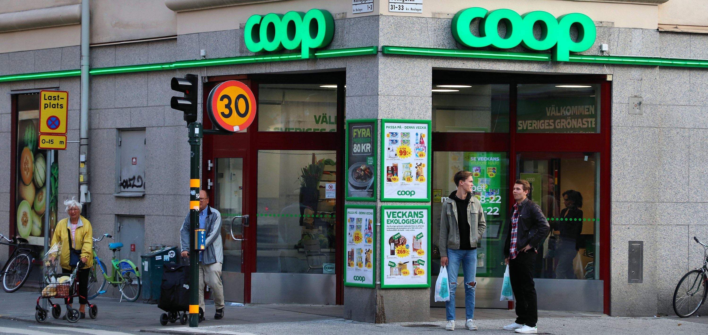 Coop store in Sweden. Photo: Tupungato/Dreamstime