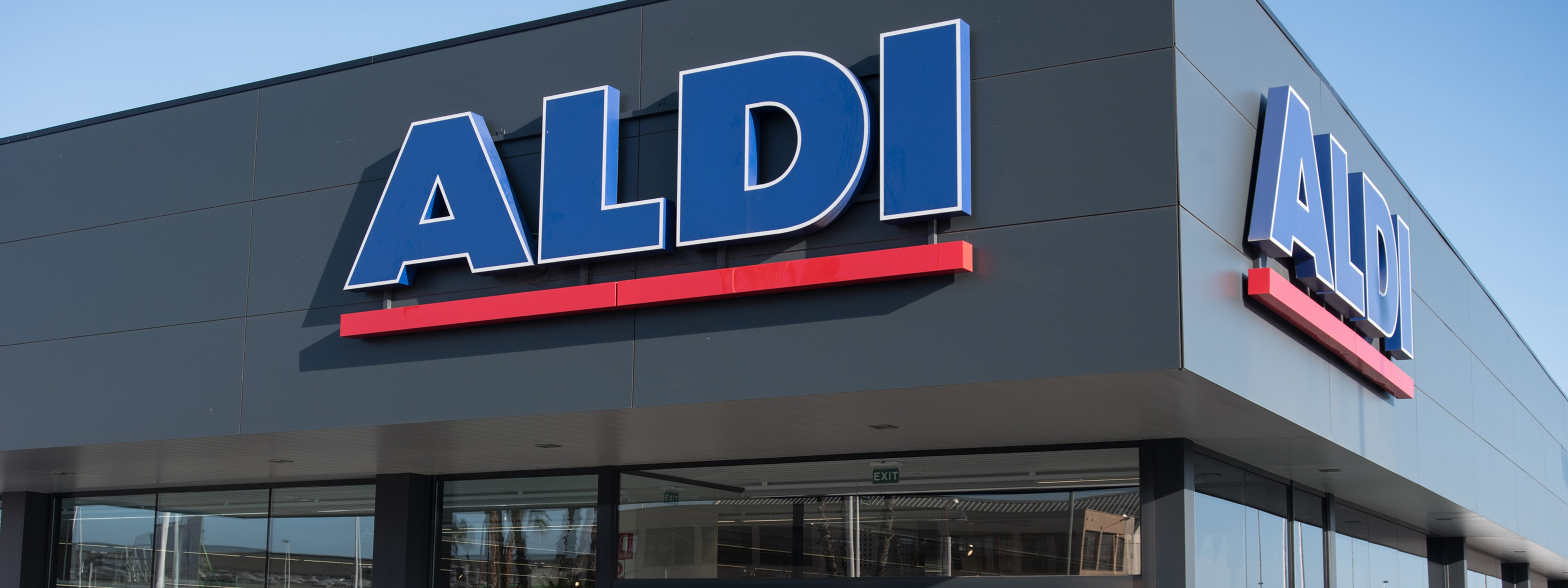 A new Aldi store in Spain. Illustration