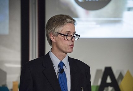 Ingmar Björkman er keynote speaker under FIBE 2019. Foto: Aalto-universitetet