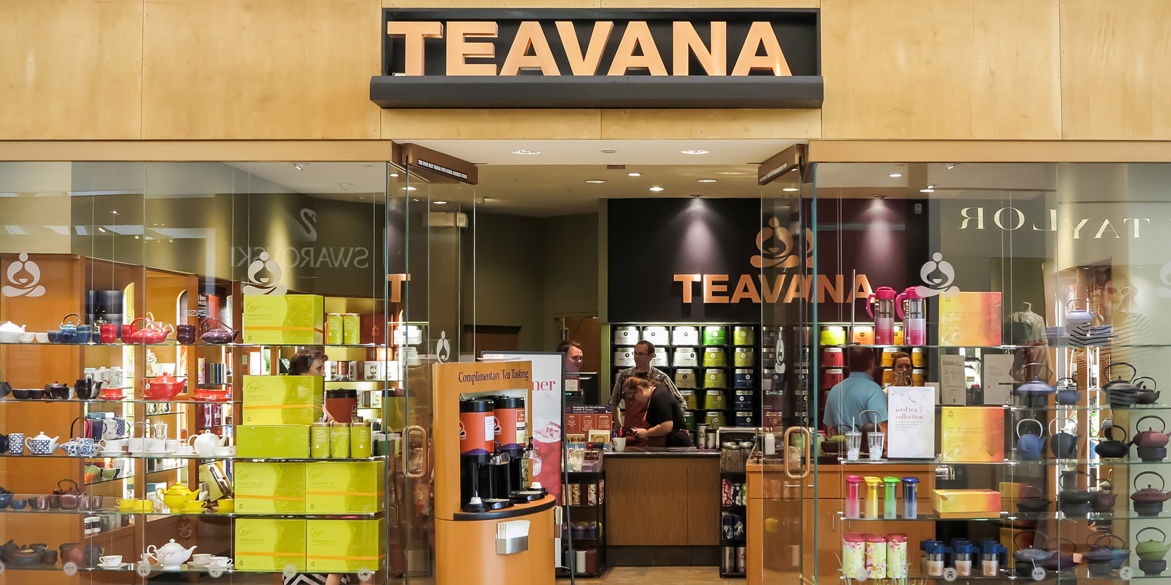 Teavana store. Stock photo