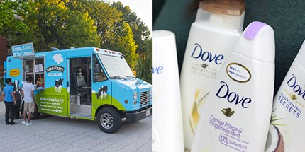 Unileve brands Ben & Jerry's ice cream and Dove. Photos: Jiawangkun/Mehaniq/Dreamstime