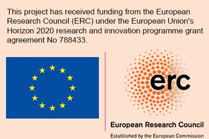 ERC Horizon 2020 acknowledgement