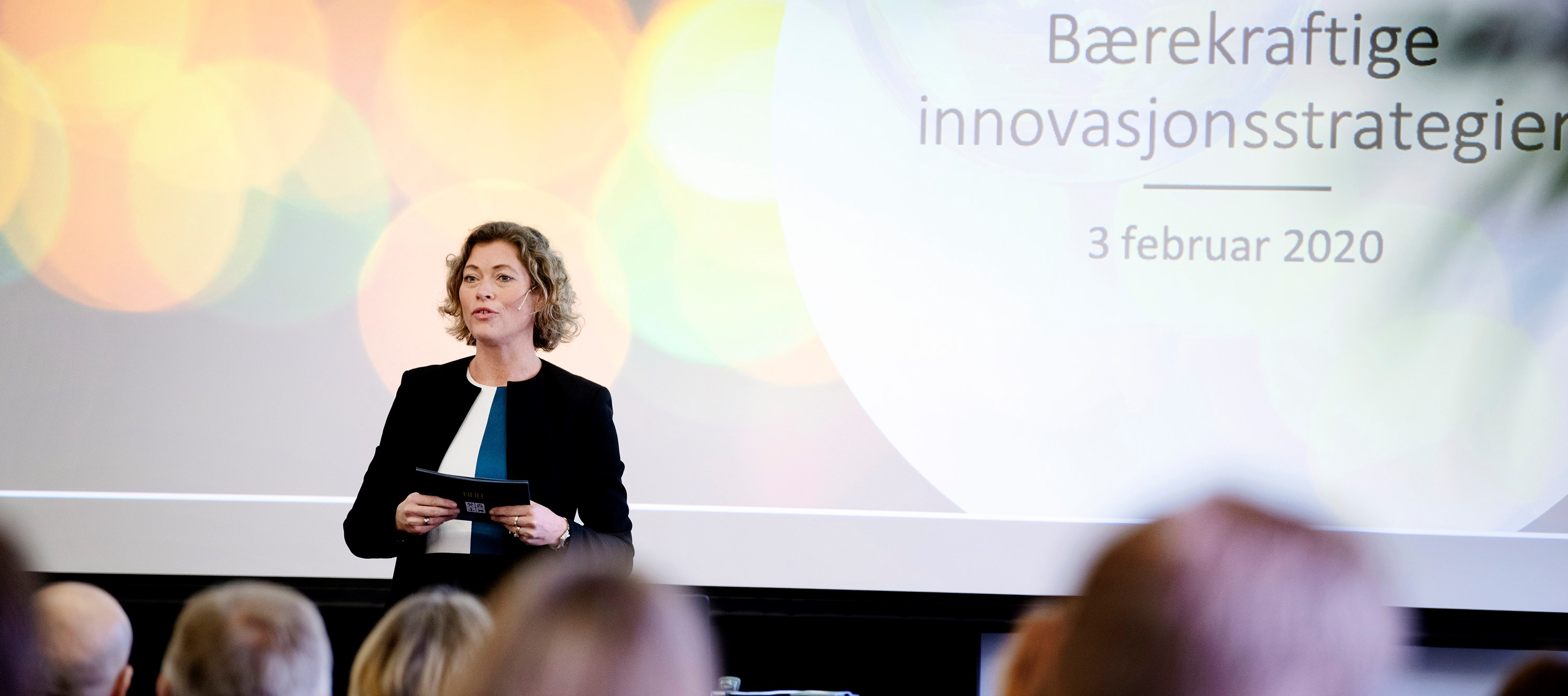 Therese E. Sverdrup, Vice Rector for Innovation and Development. Photo: Siv Dolmen