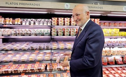 Mercadona owner Juan Roig.