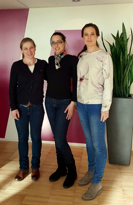 The Editors: Sigrid Helland, Tina Saebi and Camilla Gramstad (from left to right)