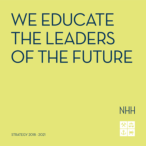 NHH's strategy 2018-2021. Illustration