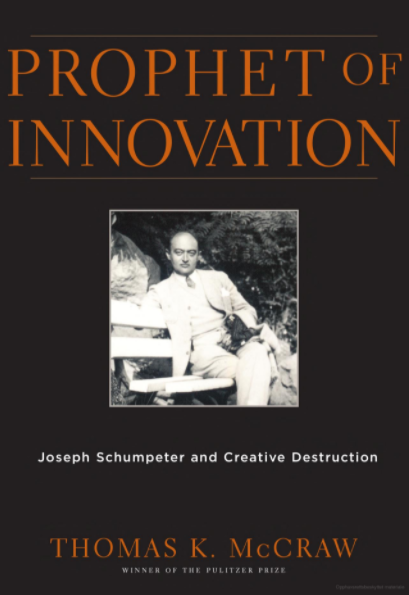 Front cover of Prophet for Innovation