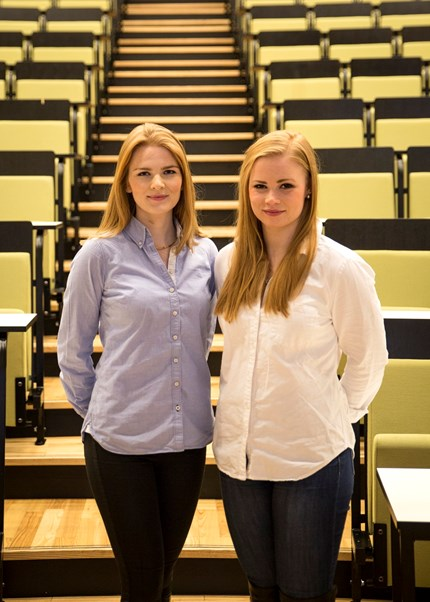 Marie Høier Sandvik and Anne Marte Tombre