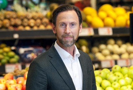 Klas Balkow, CEO in Axfood. Photo: Stefan Nilsson