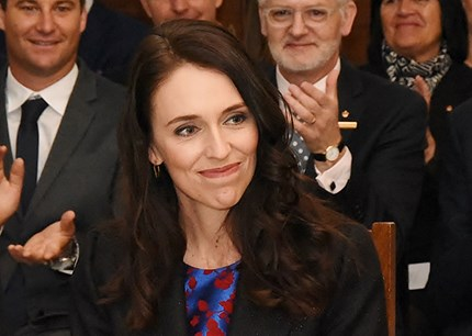 New Zealand's Prime Minister, Jacinda Ardern, has encouraged firms to look at four-day weeks. Photo: Governor-General of New Zealand/Wikimedia Commons/Creative Commons Attribution 4.0 International license