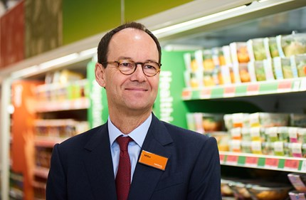 Sainsbury's CEO Mike Coupe. Photo: Salisbury's