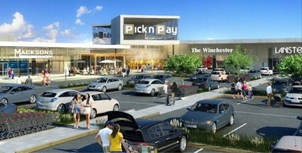 Pick n Pay on Nicol, Johannesburg, South Africa. Illustration: Leading Architects