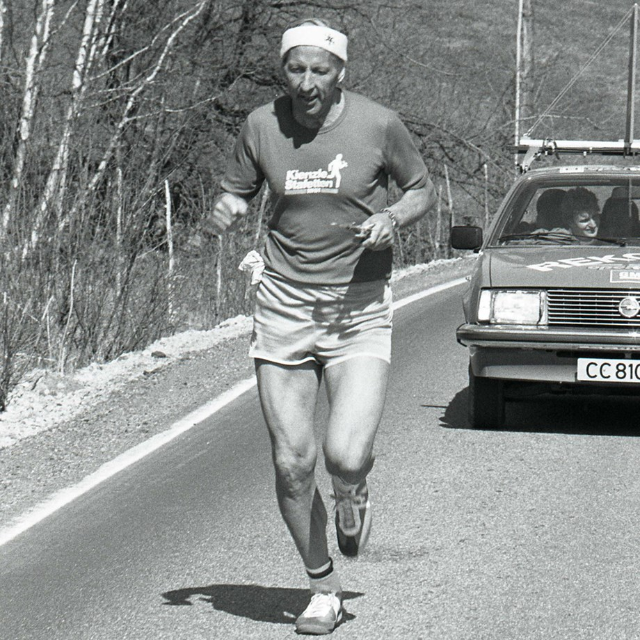 Thorolf Rafto, The Kienzle relay race 1980. Archive Photo