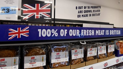 Eight out of ten food and drink products at Jack's will be grown, reared or made in Britain. Photo: Andrew Parsons