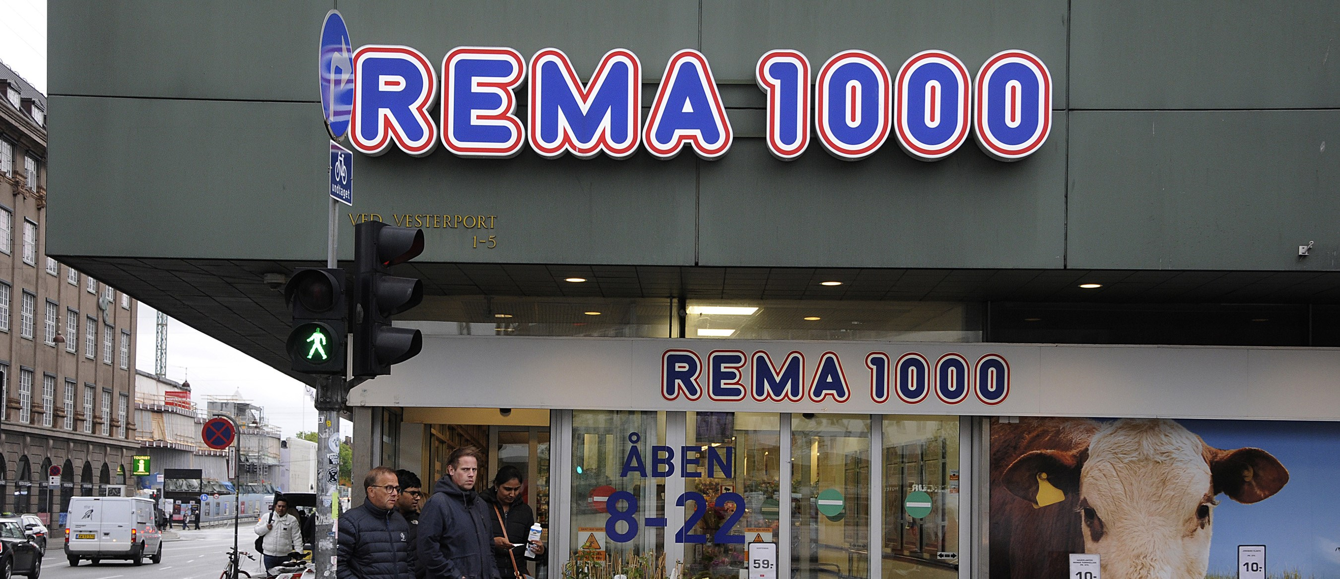 Danish Rema 1000 store. Photo: Deanspictures/Dreamstime