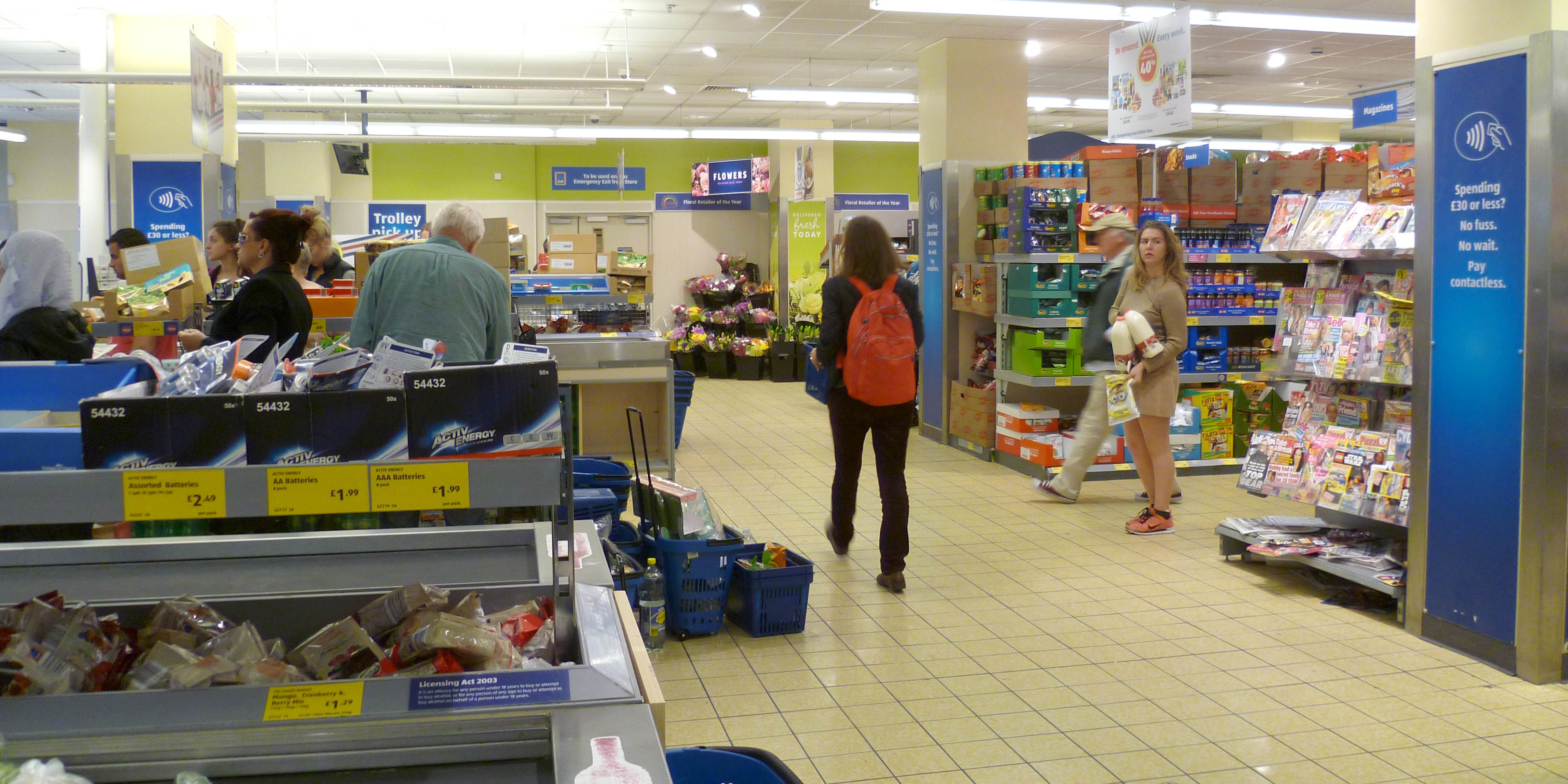 Aldi store, North Finchley. Photo: Wikimedia Commons