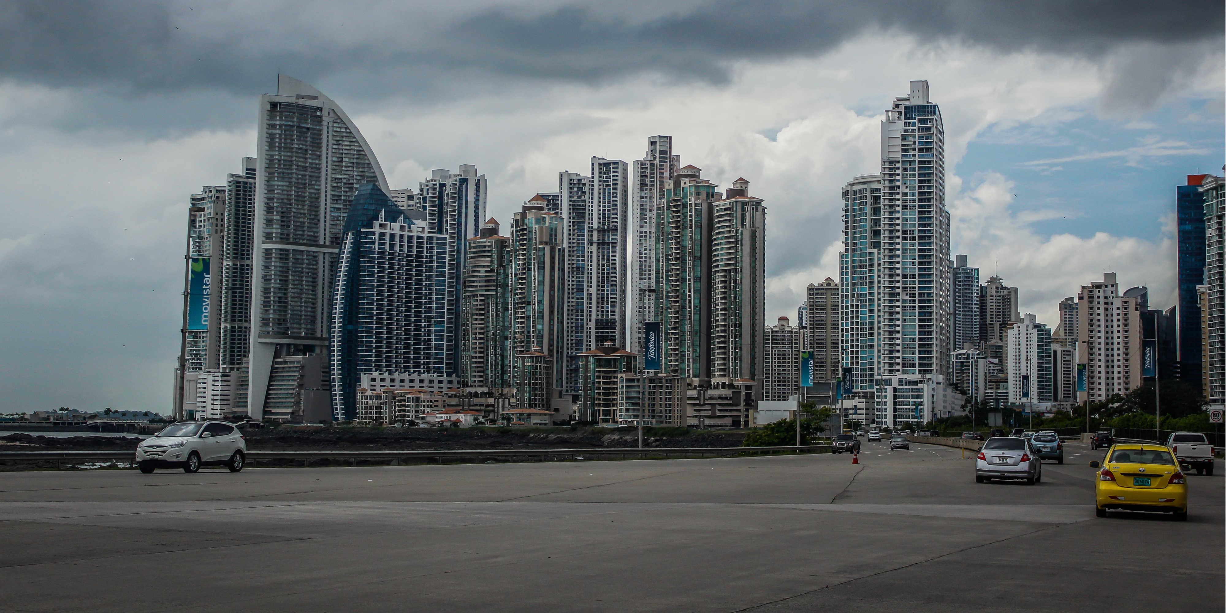 Photo of skyscrapers in Panama city