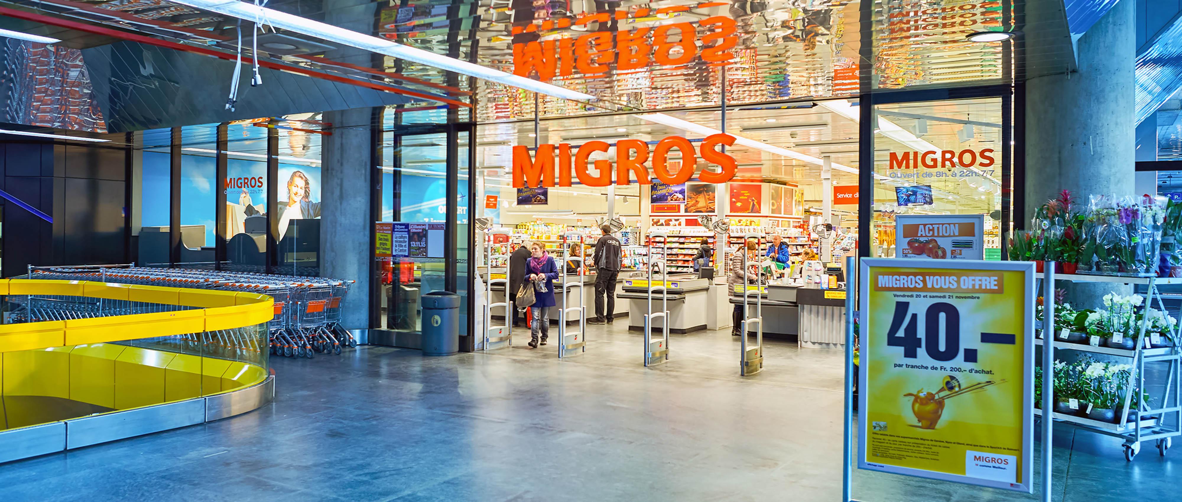 Migros: Vier Firmen im Verkaufsregal - MÖBELMARKT
