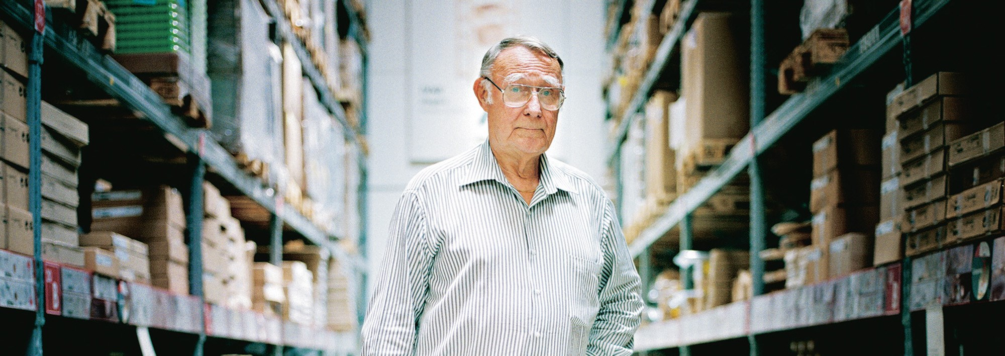 Ingvar Kamprad Photo: Ikea