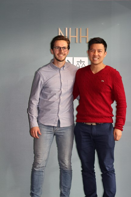 Photo: Georg Weidle Windstad and Tony Hu