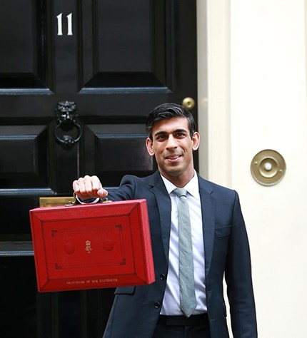 Chancellor of the Exchequer, Rishi Sunak. Photo: Wirestock/Dreamstime