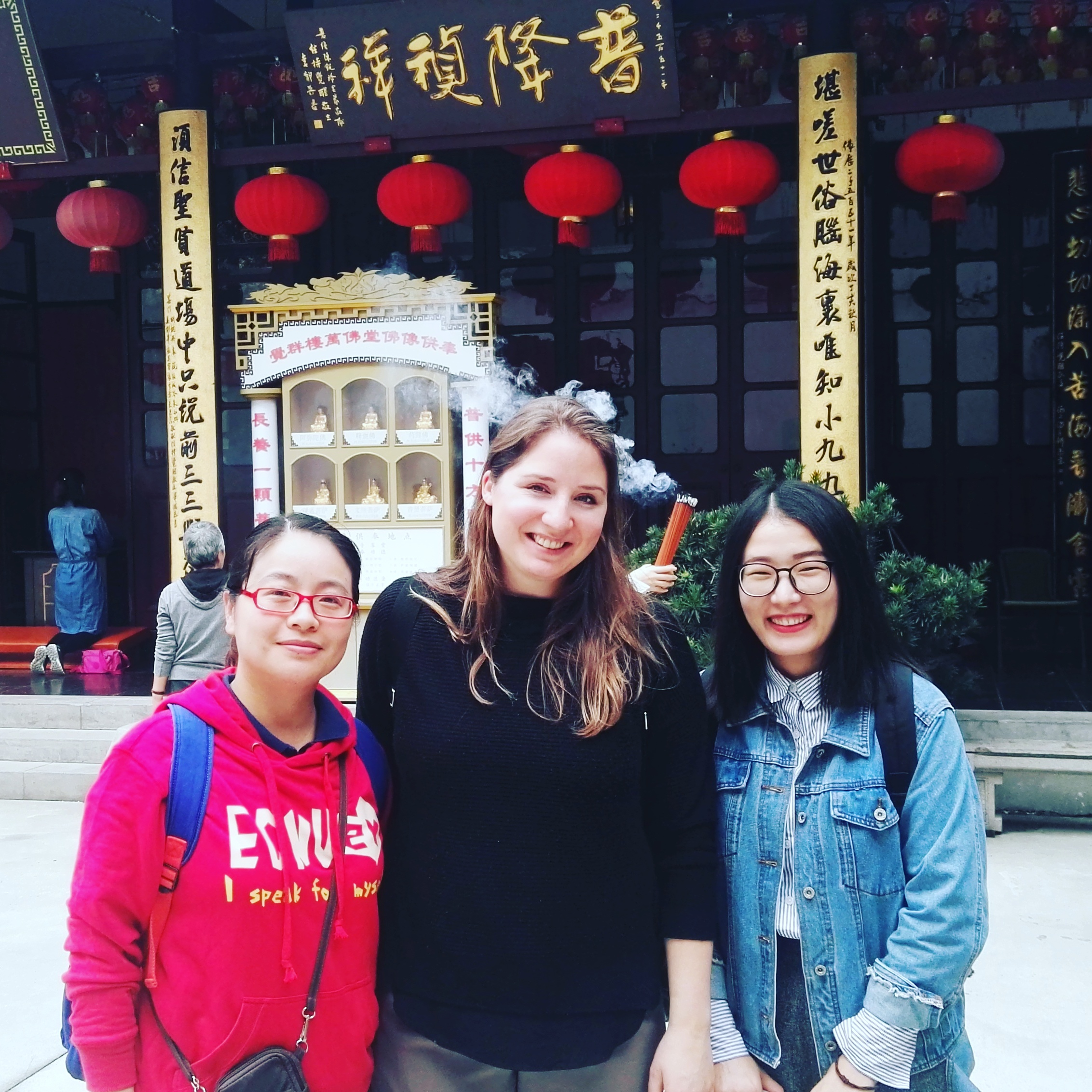 PhD student Ranveig Falch in Shanghai, China