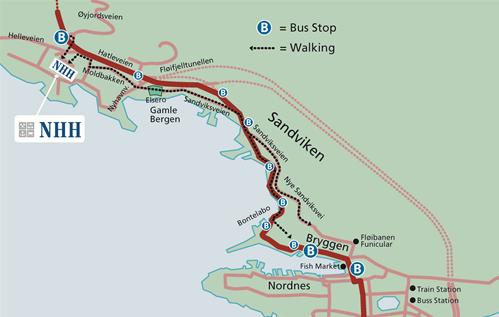 nhh kart Information about Bergen | NHH nhh kart