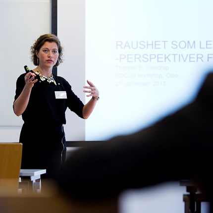 Postdoktor Therese Sverdup, Institutt for strategi og ledelse.