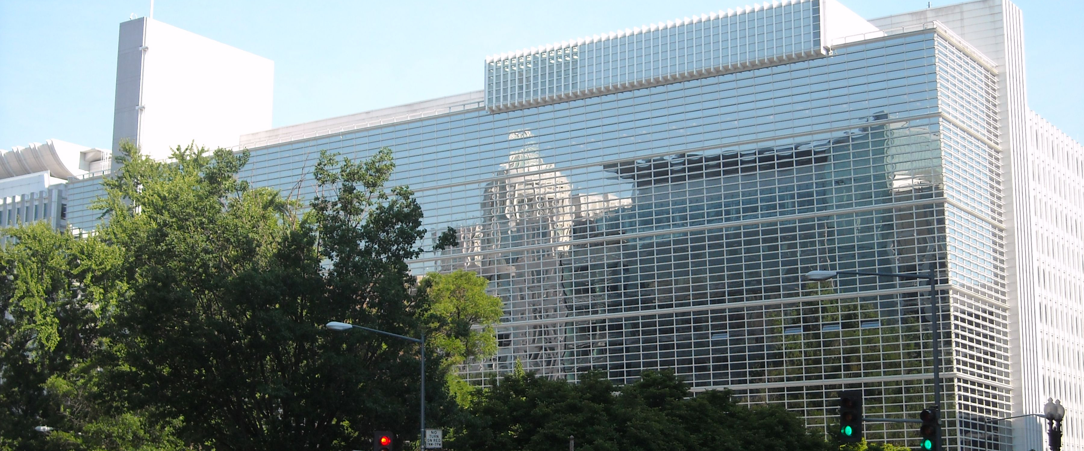The World Bank Group headquarters buildings in Washington, D.C