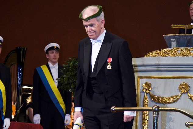 Sandmo was made an honourary doctor at Uppsala university in 2008.